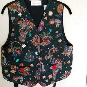 Christmas Vest by Baxter & Wells sz small